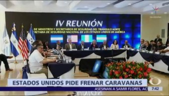Nielsen pide a países de Centroamérica frenar formación de caravanas migrantes