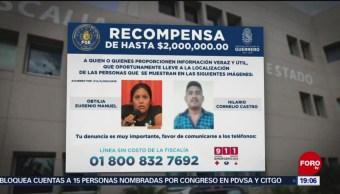 Foto: Ofrecen Recompensa Activistas Desaparecidos Guerrero 14 de Febrero 2019