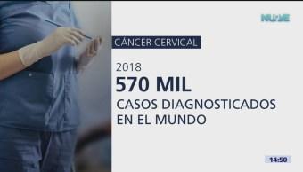 FOTO: OMS urge ampliar acceso a vacunas contra el cáncer cervical, 4 febrero 2019