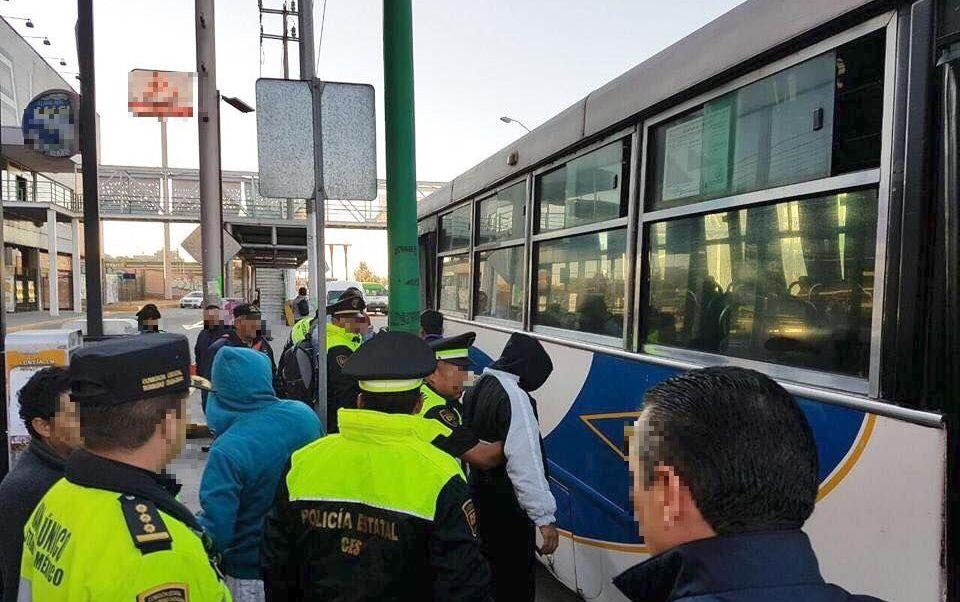 Foto: Operativo de seguridad en el Edomex, 19 de febrero 2019. Facebook-Secretaría de Movilidad del Estado de México