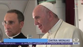 Papa Francisco reconoce abusos sexuales de curas contra monjas