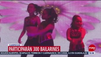 FOTO: Participarán 300 bailarines en el Carnaval de Campeche, 17 febrero 2019