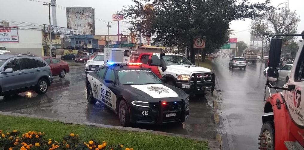 Foto: Patrulla de Monterrey, 26 de enero 2019. (Twitter @pc_mty)