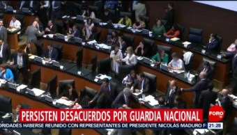 Foto: Desacuerdos Creación Guardia Nacional 19 de Febrero 2019