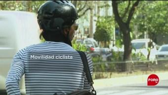 FOTO: Plan de movilidad ciclista en la CDMX, 16 febrero 2019
