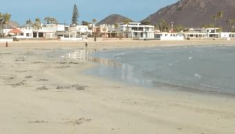 foto Mar se aleja de playas mexicanas por comportamiento de los astros 19 febrero 2019