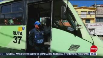 Foto: Policías en transporte de Iztapalapa no son visibles