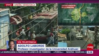 FOTO: Presencia de presidentes en fronteras venezolanas es preocupante, dice especialista, 23 febrero 2019
