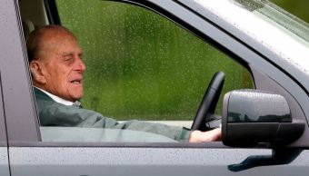 Foto: El príncipe Felipe, de 97 años, no enfrentará cargos por el choque vehicular que dejó dos lesionadas, 14 febrerro 2019