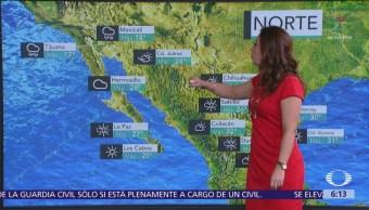 Pronostican aumento de temperaturas en gran parte de México