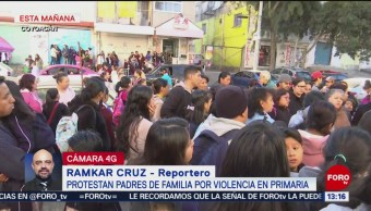 Foto: Padres de familia denuncian bullying en escuela en Coyoacán