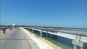 Foto: Puente La Unidad en Campeche, 28 de febrero 2019. Twitter @campeche