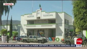 Refuerzan seguridad por tierra y aire en Sinaloa