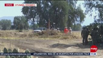 Reparan fuga de gas un Otumba, Edomex
