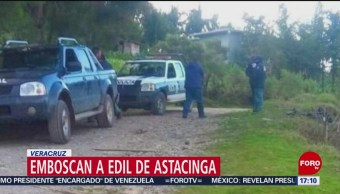 FOTO: Reportan grave a edil de Astacinga, Veracruz, tras ataque armado, 4 febrero 2019