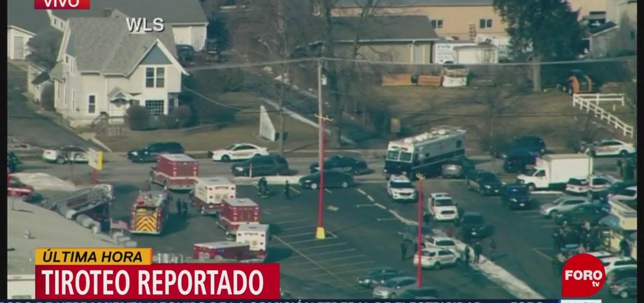 Foto: Reportan tiroteo en zona industrial de Aurora, Chicago