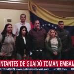 Representantes de Guaidó toman embajada en Costa Rica