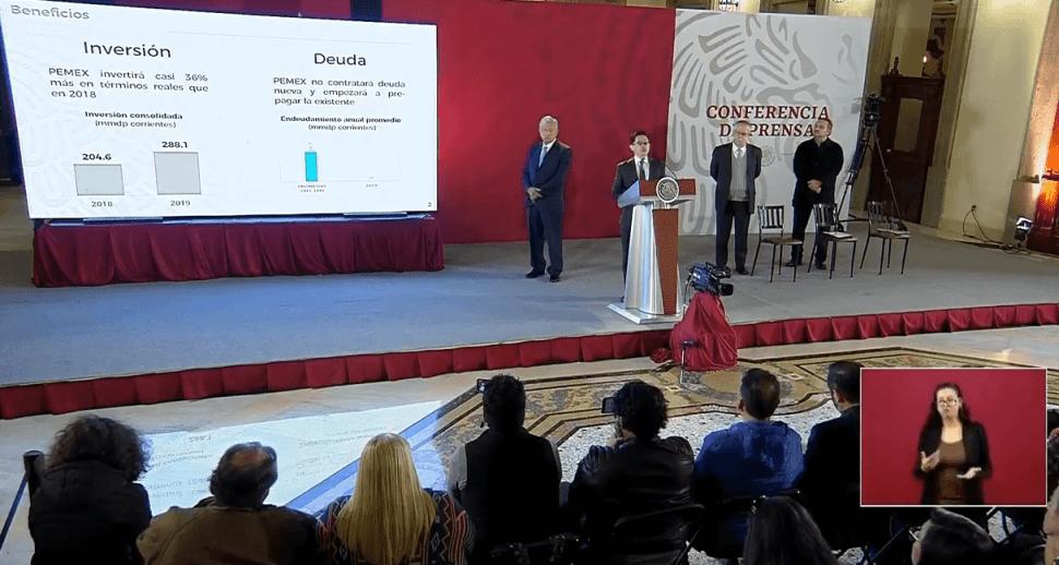 Transmisión en vivo: Conferencia AMLO 15 de febrero de 2019 YouTube/AMLO