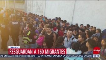 FOTO: Resguardan a 160 migrantes en Tabasco, 16 febrero 2019