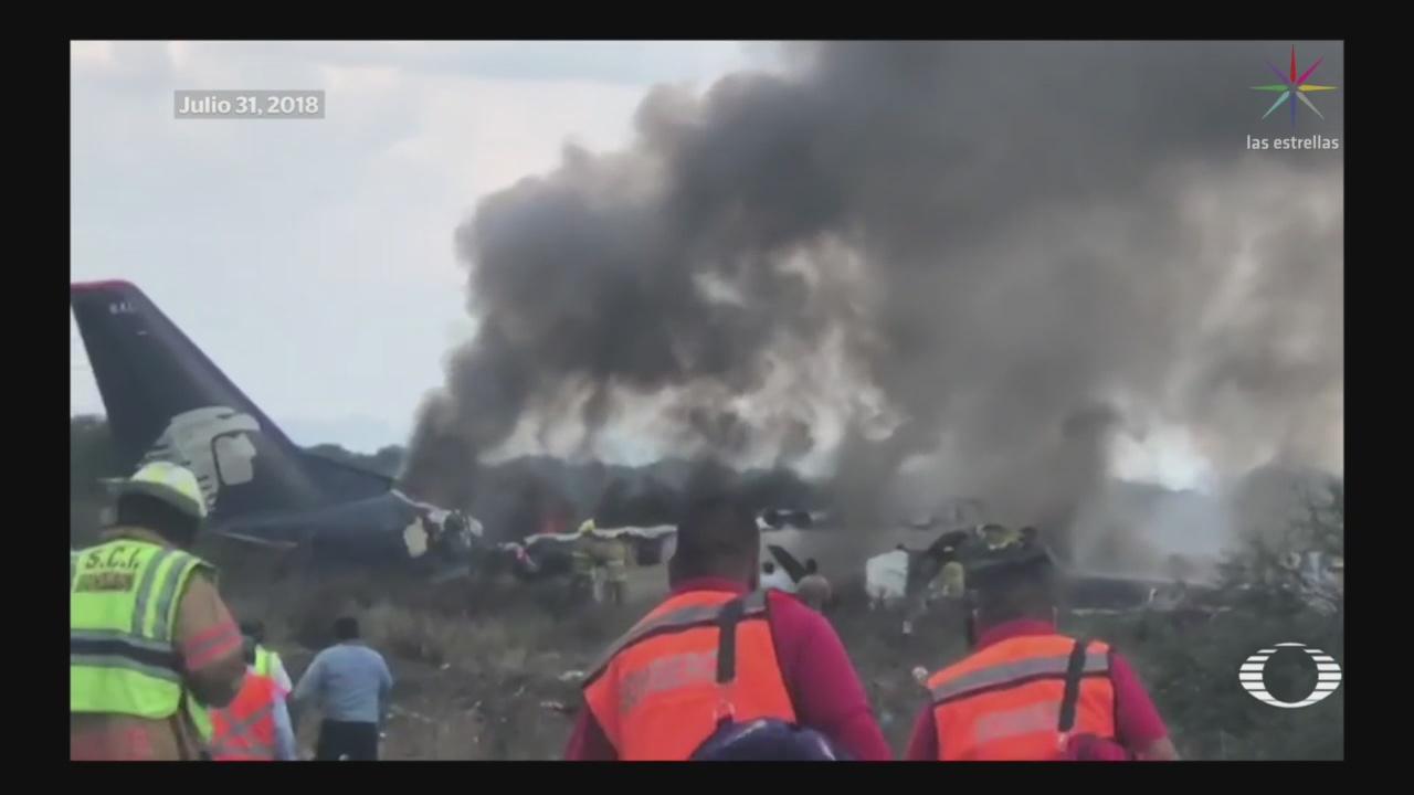 Foto: Peritaje Accidente Aéreo Durango Aeromexico 25 de Febrero 2019
