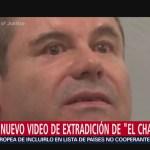 Foto: Revelan nuevo video de extradición de 'El Chapo'