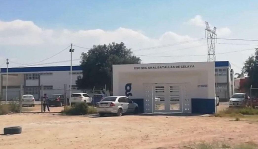 Foto: La riña se registró en una secundaria de la Colonia Valle de los Naranjos en Celaya, Guanajuato, el 16 de febrero de 2019