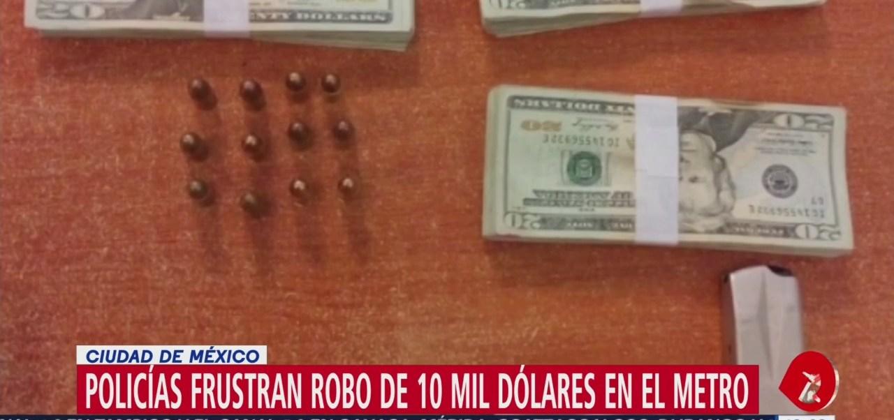 Foto: Roban a mujer 10 mil dólares en estación del Metro Consulado