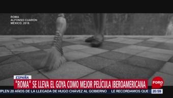 FOTO: 'Roma' Se Lleva El Goya Como Mejor Película Iberoamericana, Roma, Goya,Mejor Película Iberoamericana, El Filme 'Roma' De Alfonso Cuarón, Alfonso Cuarón, Premio Goya, 2 febrero 2019