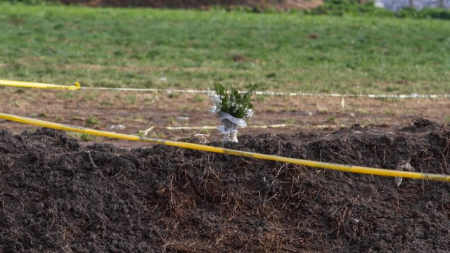 Por superstición no entierran a víctimas de Tlahuelilpan en extensión de panteón