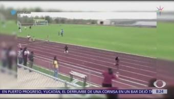 Rudolph Ingram, niño que sueña con ser sucesor de Usain Bolt