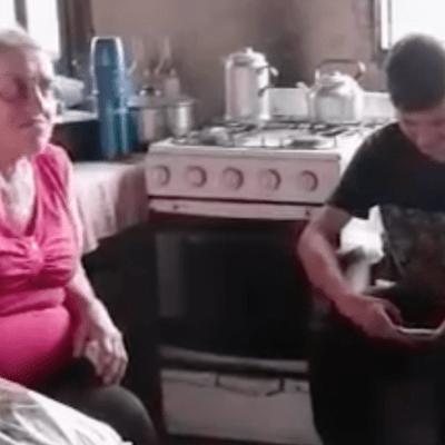 Barrendero que ayudaba a su abuela cumplirá su sueño de convertirse en agrónomo