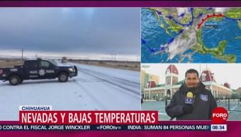 FOTO: Se registra nevadas en 8 municipios de Sonora, 23 febrero 2019