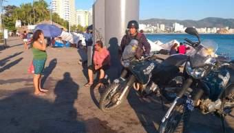 Foto: operativo de seguridad en el puerto de Acapulco, 4 de febrero 2019. Notimex