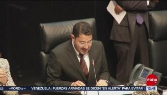 Senado da primera lectura a dictamen de Guardia Nacional