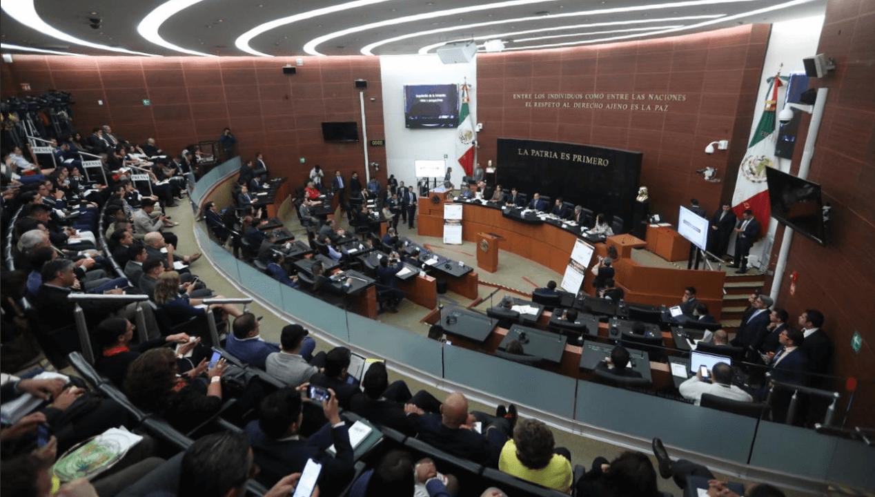 situación económica suscita discusión en el senado, Twitter, @ManceraMiguelMX