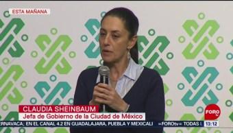 Foto: Sheinbaum Cero tolerancia a agresores de mujeres en Metro CDMX