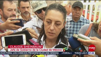 FOTO: Sheinbaum dice que no habrá impunidad en el caso de Iztapalapa, 17 febrero 2019