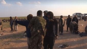FOTO Mina en Siria mata a 18 civiles que buscaban trufas 23 febrero 2019 siria