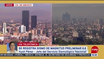 Sismo en CDMX fue similar al ocurrido en septiembre de 2017: SNN