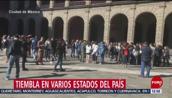 Sismo en Chiapas se percibió en Tabasco y la CDMX