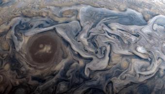 Foto Júpiter recrean cuadro de Van Gogh 28 febrero 2019