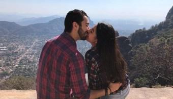 Foto: Una pareja disfruta la cima del Tepozteco en el estado de Morelos, febrero 6 de 2019 (Instagram: mayeeh_roo)