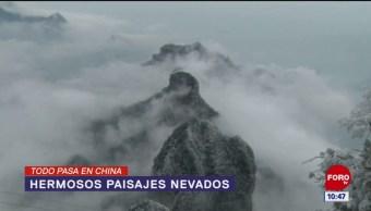 Todo Pasa En China: Hermosos paisajes nevados