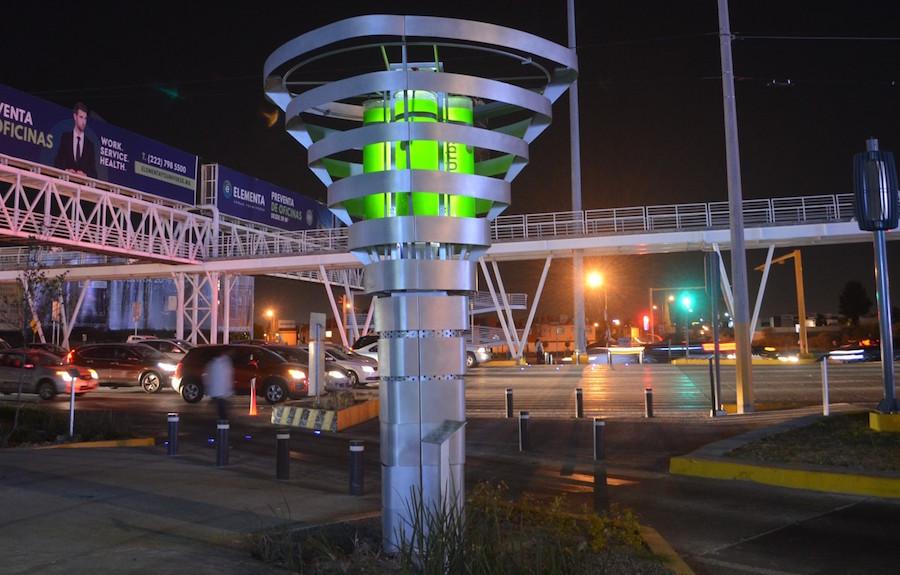 Foto Mexicano crea torres capaces purificar aire 19 febrero 2019