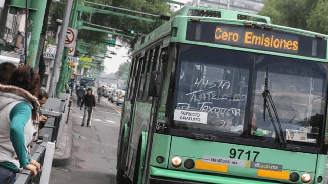 transporte eléctrico, trolebuses, cdmx, twitter, 12 febrero 2019
