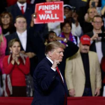 Trump analiza acuerdo del Congreso sobre frontera y muro