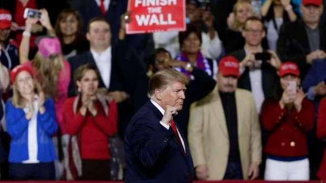 FOTO Trump analiza acuerdo del Congreso sobre frontera y muro el paso texas 11 febrero 2019