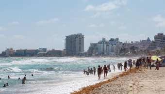 Foto: Turistas en Cancún, Quintana Roo. 12 de febrero 2019, Facebook-Ayuntamiento de Benito Juárez