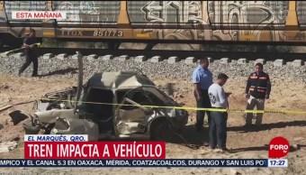 Foto: Un muerto, por choque con el tren