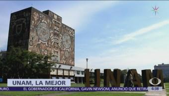 UNAM es la mejor Universidad de Latinoamérica, según Unirank